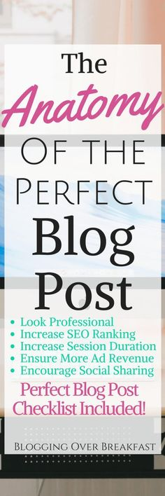 When I started I didn't realize there was so much to writing a simple blog post!  This check list on how to write a blog post has increased my SEO ranking and session duration so much!  I wish I would've known it all from the start!  #writeablogpost #blog