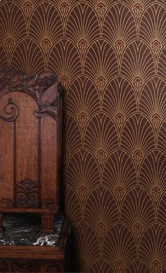 Bradburys newest Art Deco wallpaper Havana. Yes, please!