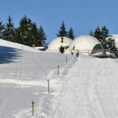 Whitepod Eco-Luxury Hotel ❄ Valais Suisse |