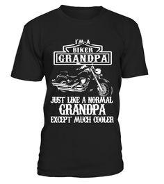 Biker Grandpa  #image #shirt #gift #idea #hot #tshirt #fishing #fish
