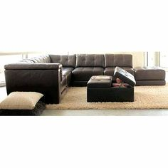 stacey stacey leather living room furniture sets u0026 pieces modular sectional on sale at macys