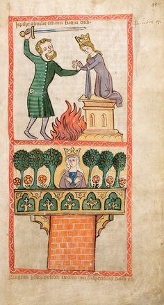 Speculum Humanae Salvationis, Westfalen oder Köln, um 1360. ULB Darmstadt, Hs 2505, fol. 11r