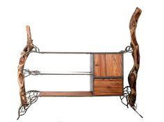 Kader Creation #Holz #Regal #Upcycling #Afrika #Design #Wurzel