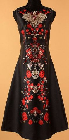 b68b42ed Sacred Heart Printed Midi Dress-Black Black Midi Dress, Heart Print, Sacred  Heart