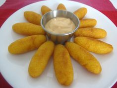 Soullitos de maíz (Puerto Rico).