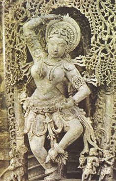Dancer from a Hoysala Sculpture