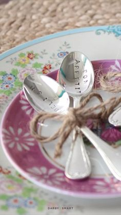 How to Stamp Silver Spoons