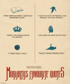 """bakerstreetbabes: """" theblueboxboy: """" Artist Beauvoire has created three very cool posters based on the BBC's Sherlock. Each poster features 6 quotes from the main characters Sherlock, John and. Sherlock Moriarty, James Moriarty, Sherlock Fandom, Benedict Cumberbatch Sherlock, Sherlock Quotes, Sherlock John, Watson Sherlock, Mrs Hudson, Sherlolly"""