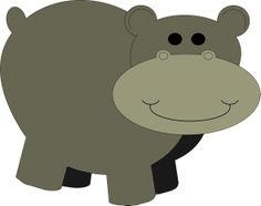 Atividade Corel - Hipopotamo