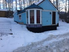 Little Blue House: Bay Window Panels are Done! From my Victorian home restoration blog, which chronicles our ongoing work on the tiny Gold Rush house in Atlin, BC.