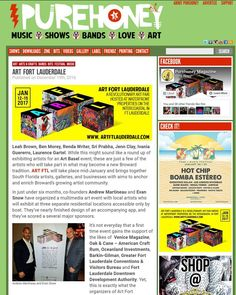 Make sure to grab your copy of @purehoneymagazine & get your Art Fort Lauderdale poster!  More info: @artfortlauderdale  http://ift.tt/2hesLcl #losolas #artftl #artftlauderdale #artfortlauderdale #fortlauderdale #ftlauderdale #artfair http://ift.tt/OBuN4L . . . . #ArtFortLauderdale #ArtFTL #Art #Choose954 #HelloSunny #SupportLocal #Community #FTL #FTLauderdale #FortLauderdale #Broward #BrowardCounty #Florida #LoveFlorida #Like #Love #ig #Culture #Follow #igersFTL #PureHoneyMagazine