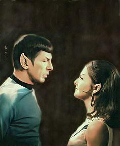 Spock and Charvenak by karracaz on DeviantArt