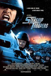 Starship Troopers (1997) Humans in a fascistic, militaristic future do battle with giant alien bugs in a fight for survival.