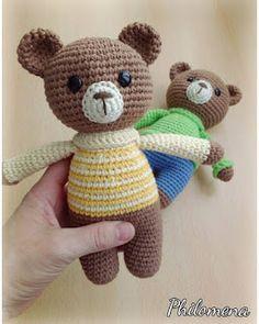 Irresistible Crochet a Doll Ideas. Radiant Crochet a Doll Ideas. Crochet Bear, Crochet Animals, Crochet Shrug Pattern, Crochet Patterns, Bear Toy, Teddy Bear, Amigurumi Patterns, Charts, Baby Shower