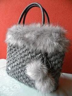 Bobble Stitch Handbag Crochet Pattern with Video Tutorial Crochet Handbags, Crochet Purses, Crochet Bags, Sacs Tote Bags, Yarn Bag, Bead Embroidery Jewelry, Macrame Bag, Craft Bags, Beautiful Handbags