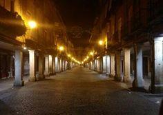 Calle Mayor nocturna