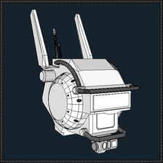 This papercraft is Chappie's Head, based on the sci-fi film Chappie (stylized as CHAPPiE), the paper model is created by ingtkt. 3d Paper, Paper Toys, Free Paper, Papercraft Download, Diy And Crafts, Paper Crafts, Diy Cardboard, Funny Ideas, Game Dev