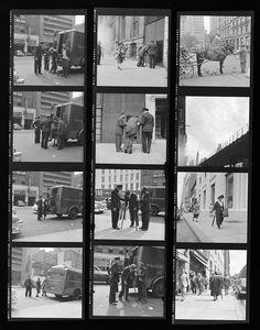 Vivian Maier Contact Sheets offer an in depth look at Vivian Maier's photography process.