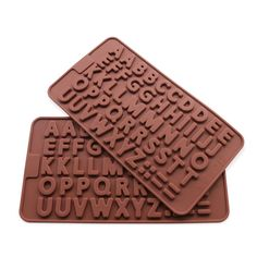 Candy Making Molds, 2PCS YYP [A-Z Letter/Alphabet Shape Mold] Silicone Candy Molds for Home Baking - Reusable Silicone DIY Baking Molds for Candy, Chocolate or More, Set of 2 * You will love this! More info here : home diy kitchen