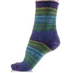 Mary Maxim - Free Gem of a Sock Knit Pattern