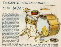 Vintage Drums, Dope Music, Snare Drum, Gretsch, Drum Kits, Jazz, Music Instruments, Drummers, 1920s