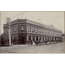 Rutland Hotel on intersection of Victoria Avenue and Ridgway Street. Heritage Hotel, Louvre, Hotels, Victoria, History, Street, Building, Travel, Historia