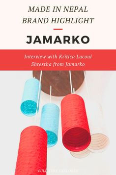 Made in Nepal Brand Highlight: Jamarko - Check out this interview with Kritica Lacoul Shrestha about how Jamarko was created and how they make their items sustainably within Nepal | Full Time Explorer | Sustainable Design | Shopping in Nepal | Sustainable Paper | Sustainable Home Decor | Eco Friendly Stationary | Natural | Handmade | Recycled Paper | Sustainable Brands in Nepal | Locally Made | Sustainable Design | Stationery