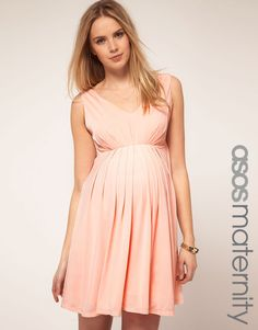 Asos needs to stop with their ridiculously cute and unpregnant models. LOL. Love this dress.