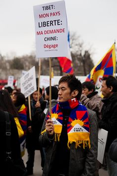 My country: Tibet. My request: Freedom from China's oppression.