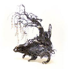 【新作】神話的で美しい。架空の生き物を造形化したオブジェ作品が素晴らしい。   ARTIST DATABASE - Part 2