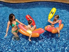 Inflatable shark kiddie pool and sharks on pinterest - Toys r us swimming pools for kids ...