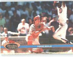 1991 Stadium Club #255 Todd Zeile - St. Louis Cardinals (Baseball Cards) by Stadium Club. $0.88. 1991 Stadium Club #255 Todd Zeile - St. Louis Cardinals (Baseball Cards)