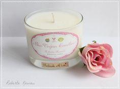 BIO Vegan candele candela di soia candela di soia di robertakawaii