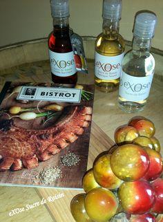"Nouvel ouvrage du Chef Cyrille Zen (Top Chef) : ""Inspirations Bistrot"".  Baba au rhum et fruits exotiques"