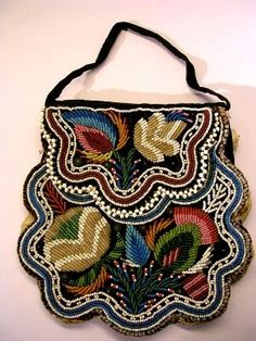 Northeastern purse, circa 1850