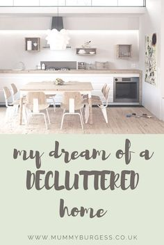 My dream of a decluttered home | K Elizabeth