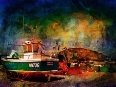 NN736 Danny Boy Fishing Boat, Hastings Beach, Sussex https://www.facebook.com/CreativeArtPhotographic/