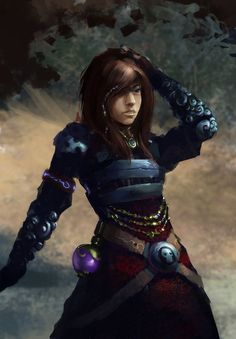 Women fighters in reasonable armor collects pictures of women fighters who are equipped for battle (not for parading around in skimpy outfits that offer no protection). Good links for Cosplay Armour for women at https://www.pinterest.com/yrauntruth/when-a-geek-dresses-up/