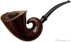 Tonni Nielsen Smooth Snail (Viking) Pipes at Smoking Pipes .com