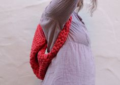Rag crochet backpack by Patchamano on Etsy, €18.00