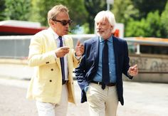 Tommy Ton's Street Style: Pitti Uomo: Style: GQ. Old pals looking good.