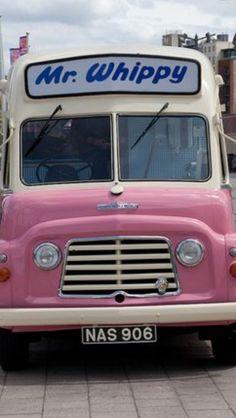 "Whippy Mr Whippy in Liverpool ~ ""enjoy a soft ice cream"".Mr Whippy in Liverpool ~ ""enjoy a soft ice cream"". 1970s Childhood, My Childhood Memories, Pillos, British Summer, British Seaside, Ice Cream Van, Kiwiana, Thing 1, My Memory"