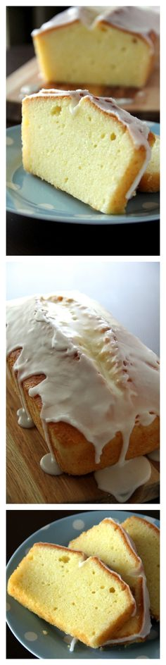 Meyer Lemon Pound Cake Recipe. Citrusy, rich, buttery pound cake glazed with lemony sugar!
