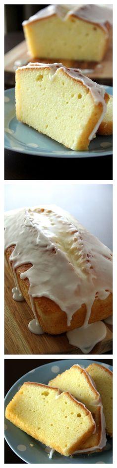 Meyer Lemon Pound Cake Recipe. Citrusy, rich, buttery pound cake glazed with lemony sugar!