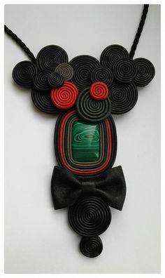 Paper Beads, Crochet Accessories, Crochet Necklace, Leather, Jewelry, Accessories, Bijoux, Jewlery, Crochet Collar