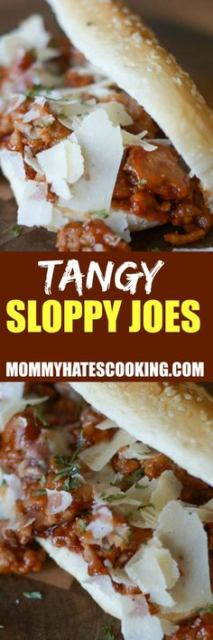 Do you loves sloppy joes? Then, it's time you try the best tangy sloppy joes recipe! This adds a level of sweetness to the sloppy joes that you will fall in love with! Turkey Recipes, Beef Recipes, Cooking Recipes, Cooking Tips, Microwave Recipes, Slow Cooker Recipes, Wrap Recipes, Easy Dinner Recipes, Quick Weeknight Dinners