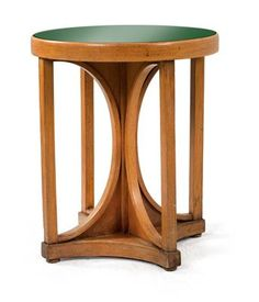 View A round table No 428 by Josef Hoffmann on artnet. Browse upcoming and past auction lots by Josef Hoffmann. Vintage Furniture, Modern Furniture, Furniture Design, Modern Table And Chairs, Art Nouveau, Sun Chair, Koloman Moser, Trophy Rooms, Cool Chairs