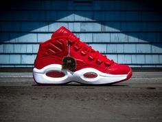 Reebok Question Canvas - Red