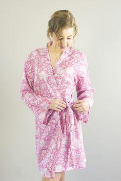 Alisha Short Dressing Robe
