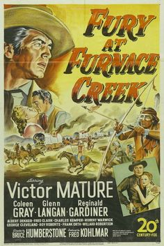 Fury at Furnace Creek - 1948 - H. Bruce Humberstone